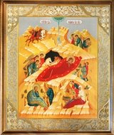 Nativity of Christ,  Framed Icon Covered With Glass