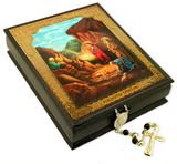 Nativity of Christ, Keepsake Rosary Icon Box