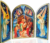 Nativity of Christ Triptych, Orthodox Icon