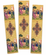 Set of 3 Tapestry Icon Book Markers, Old Testament Trinity