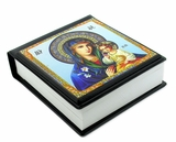 Orthodox Icon NotePad Virgin Mary the Eternal Bloom
