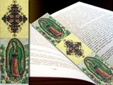 Our Lady of Guadalupe, Tapestry  Icon  Book Marker