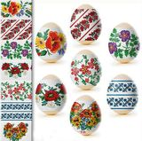 Pascha Egg Wraps Floral and Traditional Ukrainian Slavic Designs