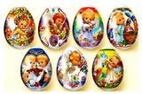 "Pascha Egg Wraps ""Little Angels""."