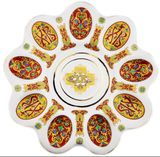 Porcelain Table Plate Pascha (Easter), 10 1/4""