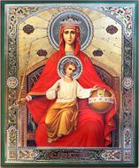 "Mother of God ""Reigning"",  Orthodox Christian Icon"