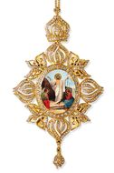 Resurrection of Christ,  Framed Icon Ornament, Byzantine Style