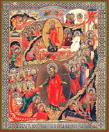 Resurrection of Christ, Orthodox Christian Icon, Large