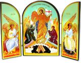 Resurrection of Christ Triptych, Orthodox Icon