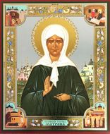 Saint Matrona the Blind of Moscow, Orthodox Christian Icon