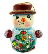 Christmas Ornament Snowman With Hat