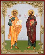 St Peter & St Paul the Apostles, Orthodox Christian Icon