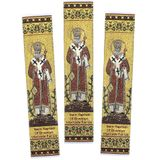 Tapestry Book Markers with Icon of St Raphael of Brooklyn, Set of 3