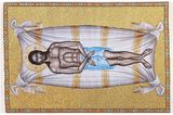 Plaschanitsa - Epitaphios Threnos, Textile Art Tapestry Cloth