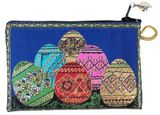 "Easter Eggs ""Pysanky"", Tapestry Pouch Case Purse"