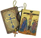 The Crucifixion,  Rosary Icon Pouch