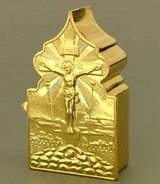 Travel Tabernacle, Gold Plated