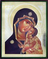 Virgin of Tenderness (Glykophilousa), Orthodox Christian Icon