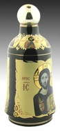 Holy Water Ceramic Container with Assorted Icons