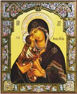 Virgin Mary Donskaya, Orthodox Christian Icon
