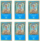 Virgin Mary Extreme Humility, Set of 6 Laminated Icon Cards with Prayer