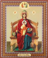 Virgin Mary Reigning (The Sovereign), Orthodox Icon