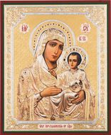 Virgin of Jerusalem, Orthodox Mini Icon