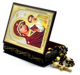 Virgin of Kazan, Keepsake Rosary Icon Box