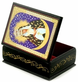 Virgin of Ostrobramska, Keepsake Rosary Icon Box