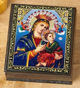 Our Lady of Perpetual Help, Icon Box