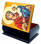 Virgin of Smolensk, Decoupage Icon Box