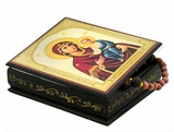 Virgin of Smolensk, Keepsake Rosary Icon Box