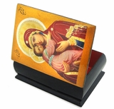 Virgin of  Vladimir,  Decoupage Icon Box