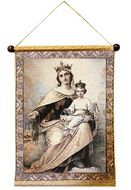Our Lady of Mount Carmel, Hanging Tapestry Icon Banner