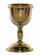 Wedding Common Cup, Heavy Gold Plated