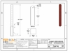 Specifications for sample wood intermediate post