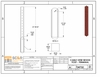 Specifications for sample wood terminal post