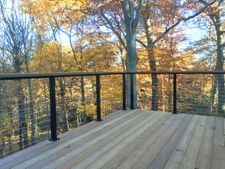 Black Aluminum Cable Railing - Greensburg, PA