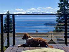 Black Aluminum Cable Railing - Incline Village, NV