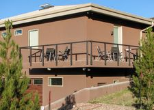 Bronze Aluminum Cable Railing - Amarillo, TX