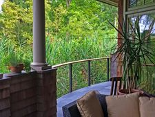 Bronze Aluminum Cable Railing - Newburyport, MA