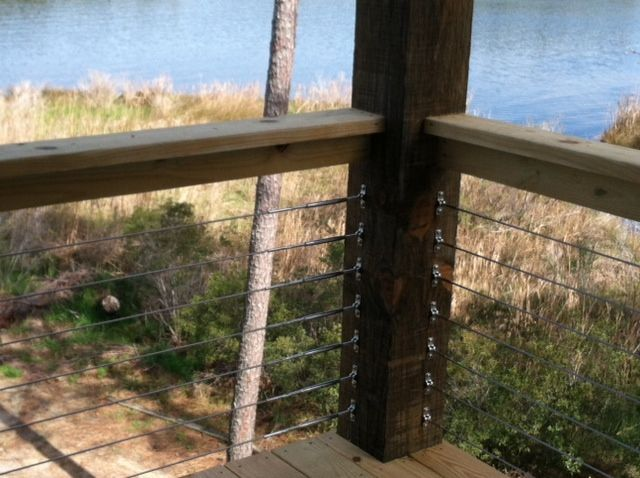 Cable Rail Wood Railing System