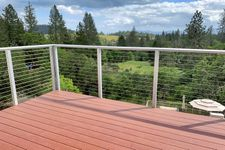 Natural Aluminum Cable Railing - Angwin, CA