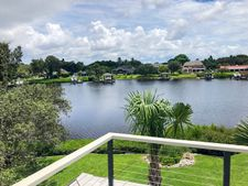 Powder-Coated Square Stainless Cable Railing - Bradenton, FL