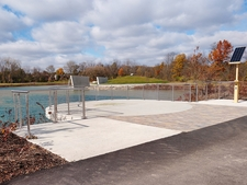 Stainless Steel Round Cable Railing - Columbus, MI