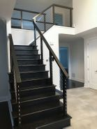 Black Aluminum Cable Railing - East Brunswick, NJ