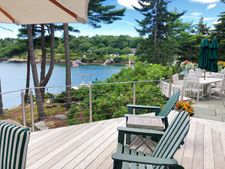 Stainless Round & Rectangular Cable Railing - Georgetown, ME