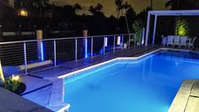 Stainless Steel Round Cable Railing - Miami, FL