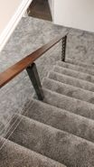 Balau & Black Aluminum Cable Railing - Port Matilda, PA