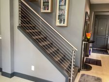 Stainless Steel Round Cable Railing - Ridgefield, WA